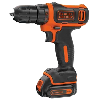 A black and decker drill