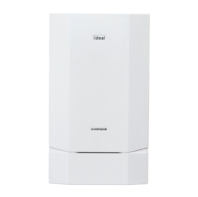 An image of an Ideal Heating Evomax2 boiler